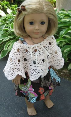 A Doll for all Seasons: Easy Sundress and Shawl