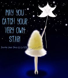Catch your very own star quote and illustration via www.Facebook.com/PrincessSassyPantsCo