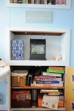 Organizing Made Fun: How I organize: Game cupboard