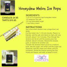 ... Honeydew Melon Ice Pop..... #recipes #icepops #honeydew #refeshing