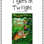 Magic Tree House novel study. Jack and Annie go on an adventure to the jungles of India. Here is a ready -to-go, complete set of questions.  $