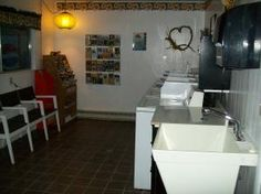 Hot Springs KOA offers a 24-hr laundry for guests use.  There are 4 washers and dryers, change machine, laundry soap vending machine, folding table and utility sink.  Plus while you are waiting for your laundry, you can browse the many brochures on things to see and do in the Black Hills.