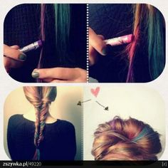 Homemade hair dye