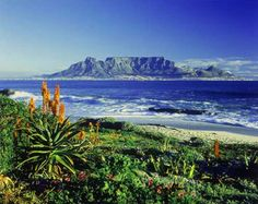 Cape Town, South Africa- Table Mountain. ALWAYS wanted to see Table Mountain!!