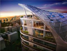 Architect: James Law Cybertecture International  Location: Mumbai, India  Use: Residential + Club House