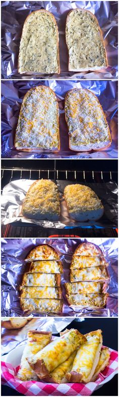 @Wayne Lau Schaefer  this is really simple and would go great with our Italian dinner! We don't have anyone making garlic bread. If you could do 2 loafs like this it would be much appreciated!