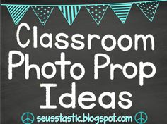 Tons of classroom photo ideas for the entire year!