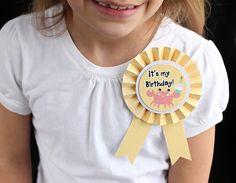 Birthday Ribbon by krafting kelly, via Flickr