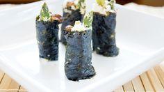 Raw Tempura Maki Rolls (Nut and Seed free!)