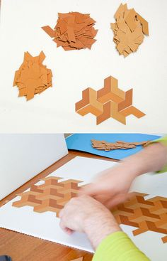 Using paper to creat