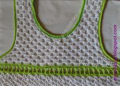 Vestido infantil em crochê | MEU MUNDO CRAFT