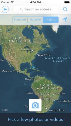 Shadow Puppet Edu - Now with Map Search feature. Get maps and satellite images from all over the world! #edtech #ipaded