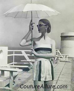 Jeanne Lanvin summer 1956