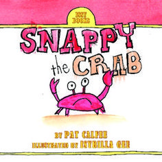 Free! Snappy the Crab by Pat Calfee is an emergent reader that children will love. Sight words and controlled vocabulary were used to create a delightful story that beginning readers will easily read and enjoy! Short sentences with predictable text make this story a great beginning reader. The illustrations were done by Pat's 5 year old granddaughter, Issy.