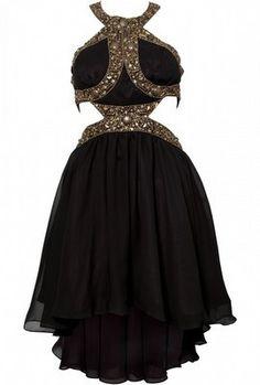 Beaded Cut Out Dress by OPULENCE ENGLAND @girlmeetsdress