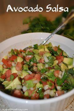 Avocado Salsa | Laugh With Us Blog