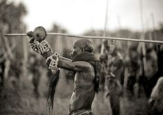 Donga stick fighting in Surma Suri under the rain - Ethiopia | Flickr - Photo Sharing!