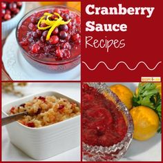 Figure out which cranberry sauce recipe to make this year. 21 Simply Delicious Cranberry Sauce Recipes - traditional recipes and not-so-traditional recipes. #Thanksgiving #sidedish