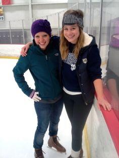 Ice skating to raise money for dance marathon!