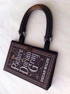 The Picture of Dorian Gray Book Purse. #booksarethenewblack