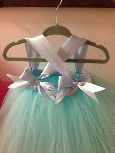 Another knotted tutu dress.