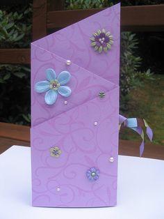 Tri-fold birthday card 1 of 2