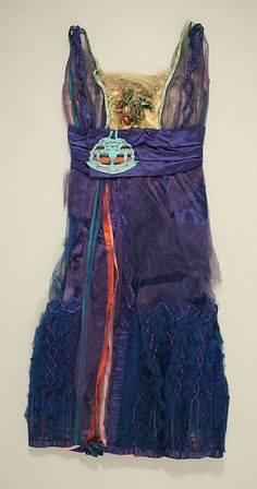 Dress, Evening  Lucile  (British, 1863–1935)    Date:      1916–18  Culture:      British