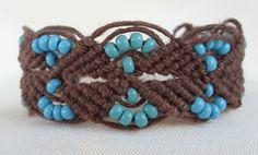 Hemp bracelet... 90's retro. Too soon?