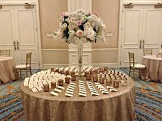 Julie + Timmy | Escort Card Table | @fsdallas wedding