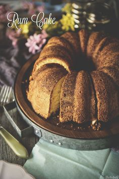 Rum Cake Recipe - passed down for three generations...  #FlavorStory