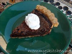 Mommy's Kitchen - Old Fashioned & Southern Style Cooking: Chocolate Chess Pie