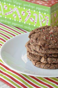 Chocolate Espresso Brownie Cookies
