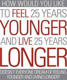 Vivix Look and Feel 25 Years Younger...ummm yes please!