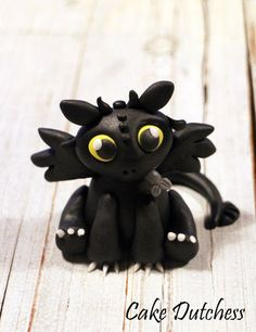 Toothless with Step by Step!! Cake by Etty