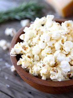 Garlic Rosemary Popcorn