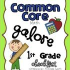 math, core checklist, classroom, idea, school, educ, core galor, common core, teachers