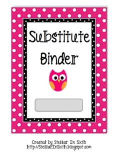 owl substitute binder forms