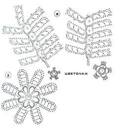 flowers and leaves crochet patterns   make handmade, crochet, craft