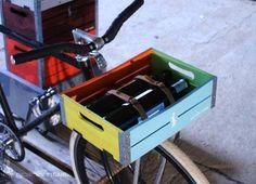 Gotham Cargo bike baskets