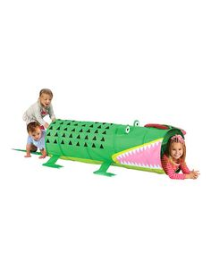 This Alligator Play Tunnel is perfect! #zulilyfinds