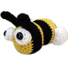 Free Bumble Bee Amigurumi Pattern : FREE Bee Pattern download. TONS of Stuffed Animal Crochet ...