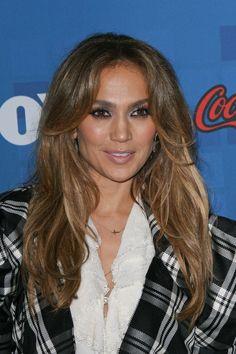 Jennifer Lopezs sexy, long hairstyle