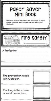 FIRE SAFETY Facts Fluency Center: Sentence Shuffle Trio - This fire safety fluency center would be a great addition to your fire prevention lessons. There is a mini book that you can use with your guided reading group, interactive notebook printables, and a fluency center. These are also great for your early finishers! paid