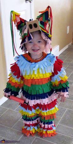diy costumes, kid halloween costumes, costume ideas, kid costumes, diy halloween costumes, pinata costum, homemade costumes, costume halloween, homemade halloween costumes