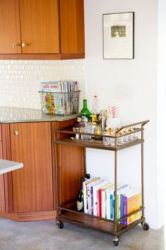 THE BARCART - via A House in the Hills