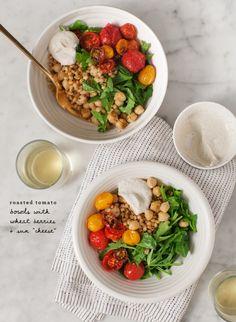 roasted tomato bowls / @loveandlemons