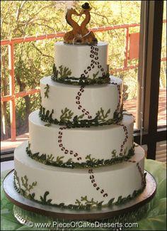 dream cake, wedding cakes, footprint, giraffe cake topper, giraff cake, cake toppers