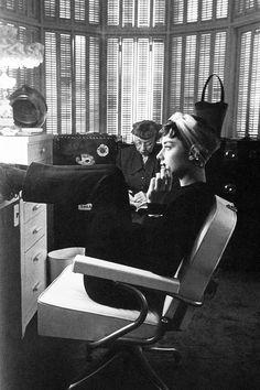 Audrey & Edith Head vintag, mark shaw, peopl, icon, style, audrey hepburn, inspir, audreyhepburn, thing audrey