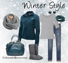 Winter Style - ColoradoMoms very cute outfit, would do more of an athletic gray shirt though!!