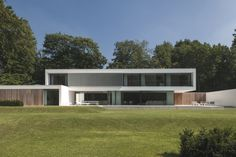 Contemporary HS Residence by Cubyc Architects located in Flanders, Belgium